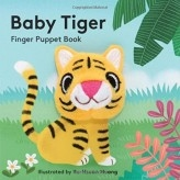 Baby Tiger Finger Puppet Board Book at Little-Minnows.com