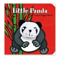 Little Panda Finger Puppet Board Book at Little-Minnows.com