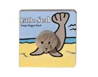 Little Seal Finger Puppet Board Book at Little-Minnows.com