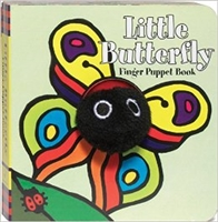 Little Butterfly Finger Puppet Board Book at Little-Minnows.com