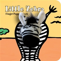 Little Zebra Finger Puppet Board Book at Little-Minnows.com