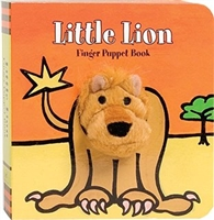 Little Lion Finger Puppet Board Book at Little-Minnows.com