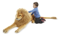 Lion Giant Stuffed Animal Available at Little-Minnows.com