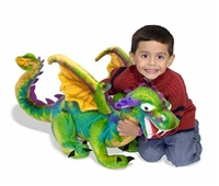 Dragon Giant Stuffed Animal Available at Little-Minnows.com