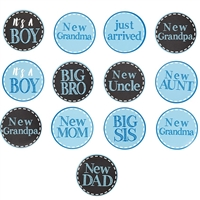 New Baby Boy Stickers Set available at Little-Minnows.com