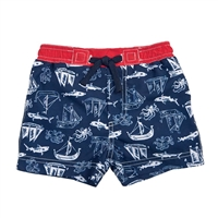 Shark Swim Trunks available at Little-Minnows.com