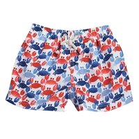 Crab Swim Trunks available at Little-Minnows.com