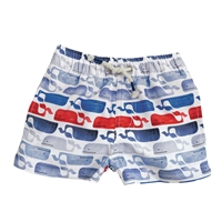 Whale Swim Trunks available at Little-Minnows.com