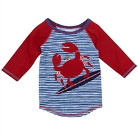 Crab Rash Guard available at Little-Minnows.com