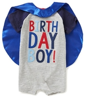 "Boys' ""Birthday Boy!"" T-Shirt With Cape Set available at Little-Minnows.com"