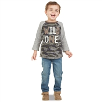 "Camo ""Wild One"" T-Shirt and Pant Set at little-minnows.com"