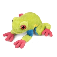 Red-eyed Tree Frog Plush Available at Little-Minnows.com