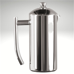 French Press, mirror finish, 17 fl. oz.