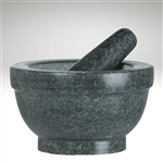 "Mortar & Pestle ""Giant"", 5"" H, Granite"
