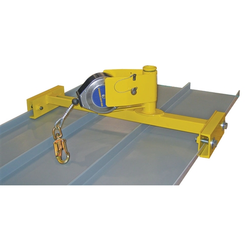 Standing Seam Roof Anchor Clamp Harness Land