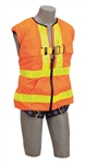 Delta Vest Hi-Vis Reflective Workvest Harness