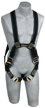 Delta Arc Flash Harness - Dorsal/Front Web Loops with Leather Insulators - X-Large | 1110812