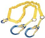 ShockWave 2-100% Tie-Off Rescue Shock Absorbing Lanyard with Aluminum Rebar Hooks | 1244751