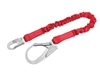Protecta PRO Stretch Shock Absorbing Lanyards w/ Rebar Hook - Single
