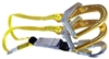 Guardian Double Shock Absorbing Lanyard with Rebar Hooks - 21214