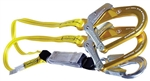Guardian Double Shock Absorbing Lanyard with Rebar Hooks - 01231