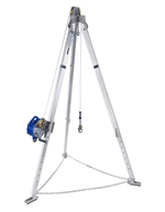 Advanced Aluminum Tripod with Sealed-Blok 3-Way SRL with Galvanized Steel Wire Rope | 8301030