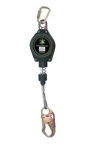 Class A cable Retractable Lifeline - 15 ft. | FS-FSP1215-G