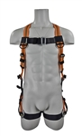 VLINE Universal Fall Arrest Harness with tongue buckle legs