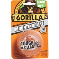 Gorilla Double-Sided, Clear Mounting Tape