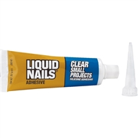 Liquid Nails Clear; Small Project Adhesive