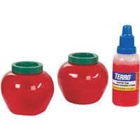 bowl of fruit terro fruit fly trap