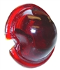 John Deere: M MI MT B R; A G Red Glass Tail Light Lens