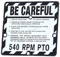 BE-CAREFUL PLATE - 1959-1960