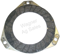 PULLEY CLUTCH DISC WITH BONDED LINING