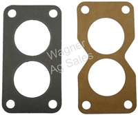 CARBURETOR GASKET KIT (END GASKETS FOR JD DUAL INDUCTION CARBURETORS)