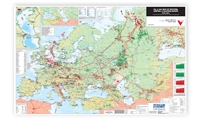 Map | Oil & Gas Map of Western, Central & Eastern Europe