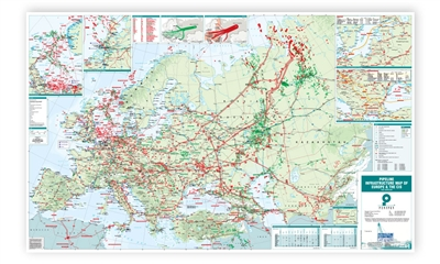 Map | Pipeline Infrastructure Map of Europe & the CIS