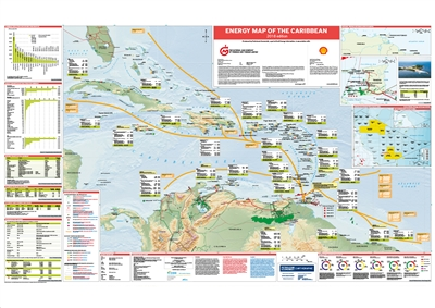 Map | Energy Map of the Caribbean, 2018 edition
