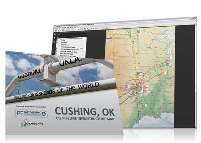 Map | Cushing, OK Oil Pipeline Infrastructure Map