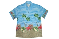 Bulk H467BL Hawaiian shirt