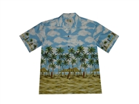 Bulk H506BL Hawaiian shirts