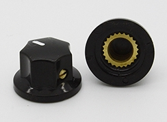 Small Fluted MXR Knob in Black