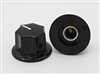 Large Fluted MXR Knob in Black