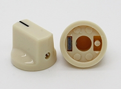 Pointer Knob in Cream