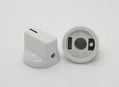 Pointer Knob in White