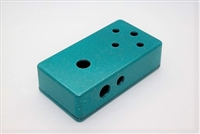 1590B Drilled for 3 Knobs - Any Color
