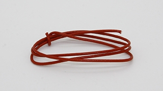 24/1 (Solid) Wire Red > per foot