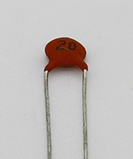 20pf 500v Xicon Ceramic Disk Capacitor
