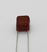 .68uf 50v Panasonic Radial Film Capacitor - 100 count