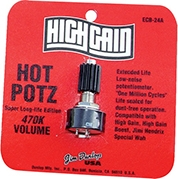 Wah Potentiometer Hot Potz 470K